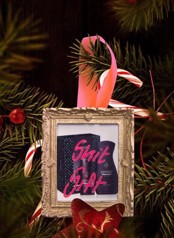 Christmas tree ornament - Shit Gift