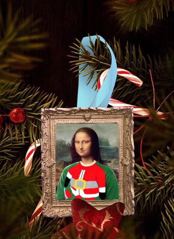 Christmas tree ornament - Mona Christmas