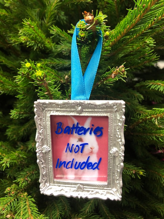Christmas tree decoration -  Batteries Not Included