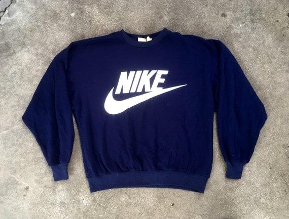 nike hoodie navy blue