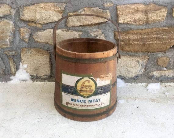 Vintage 1930s 1940s H.D. LEE Mercantile Mince Meat