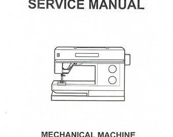 PDF Husqvarna Viking Mechanical Sewing Machine Service Repair Manual 100 200 300 Series Prelude Daisy Emerald Scandanavia