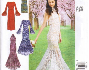 cd086e1d2a Misses Stretch Knit Prom Formal Special Occasion Evening Wear Cocktail Dress  Column Trumpet Mermaid Flounce Skirt Plus Size 14 16 18 20 22