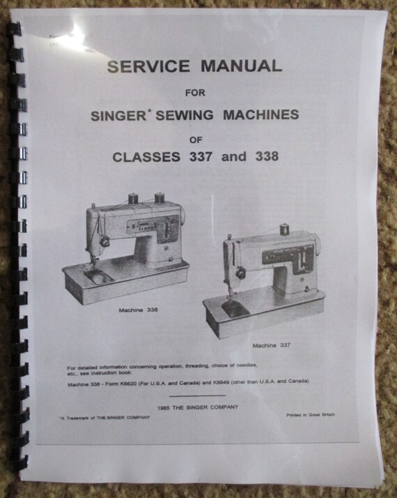 Singer Sewing Machine Models 40 40 Service Adjusters Repair Etsy New Sewing Machine Repair Tools