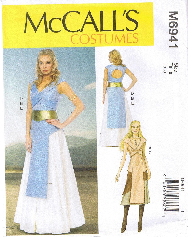 Game of Thrones Renaissance Costume Tabard Skirt McCalls 6941 ...