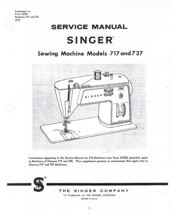 Singer Sewing Machine Classes 40 40 Adjusters Service Repair Etsy New Singer 347 Sewing Machine Instruction Manual