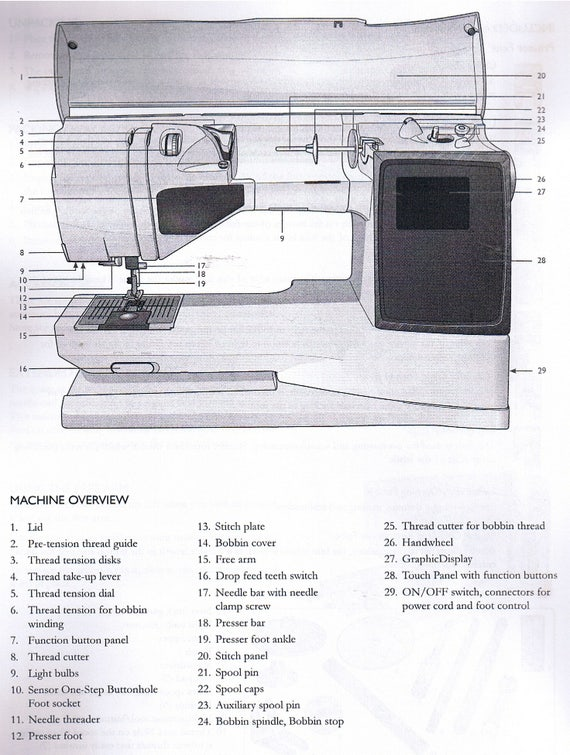 Husqvarna Viking Tribute 140M Sewing Machine Owner User Guide Manual Book How To