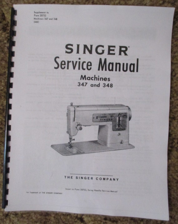 Singer 40 40 Sewing Machine Service Repair Adjusters Manual Etsy Unique Singer Sewing Machine Service