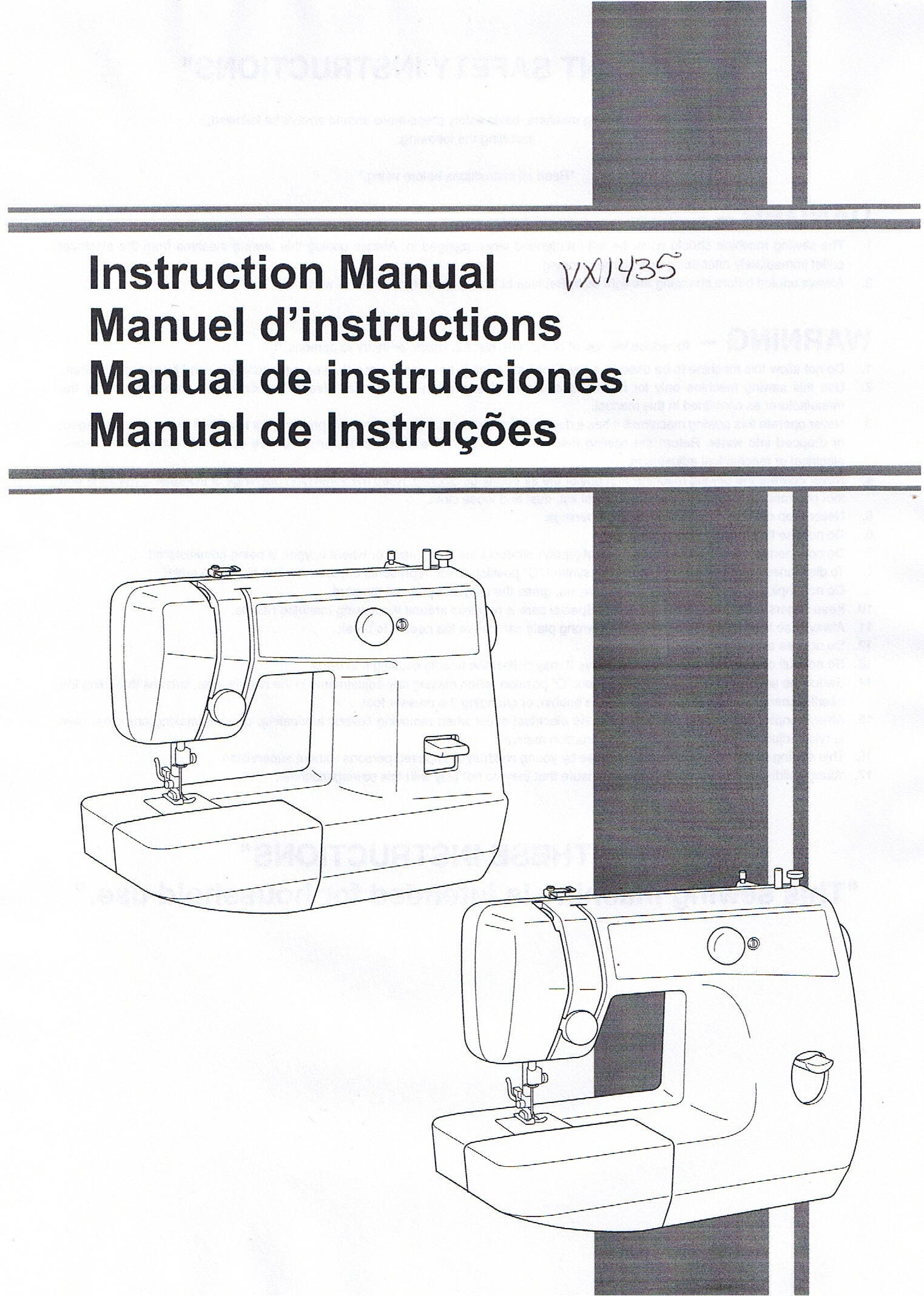 Brother Ls1520 Ls2125i Vx1435 Sewing Machine Operation Etsy Wiring Diagram Operating Users Guide Owners Instruction Manual Book