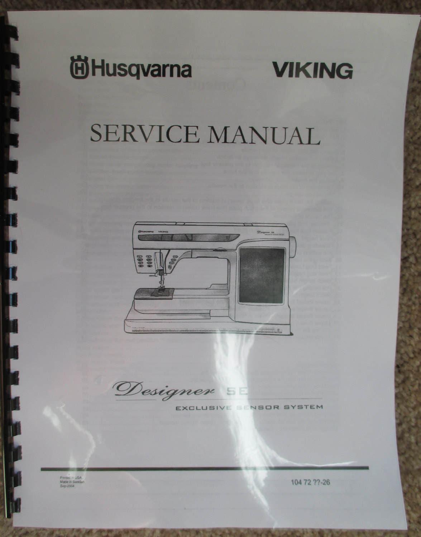 Viking designer se se le service / repair manual & parts book | etsy.
