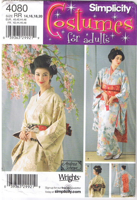 Geisha Girl Oriental Japanese Kimono Robe Obi And Dickey Etsy