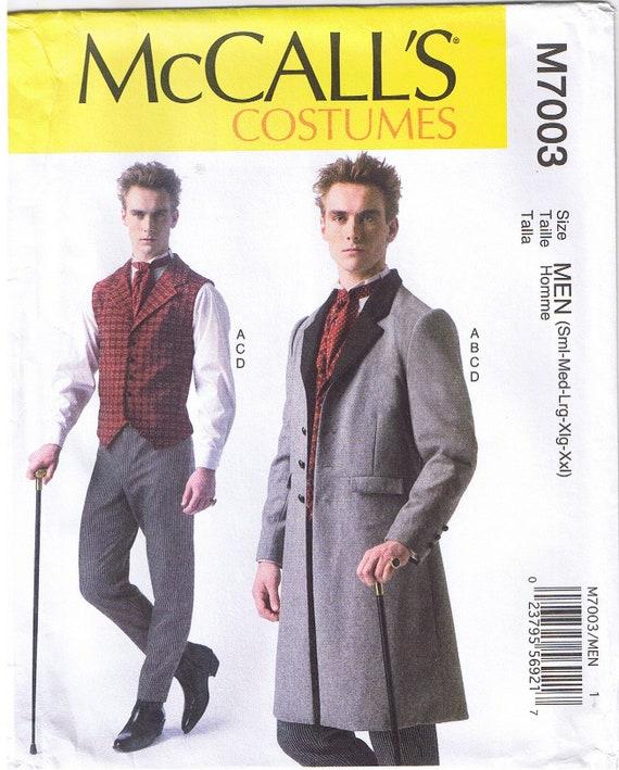 Mens viktorianischen Ära Weste Mantel konische Hosen Krawatte | Etsy