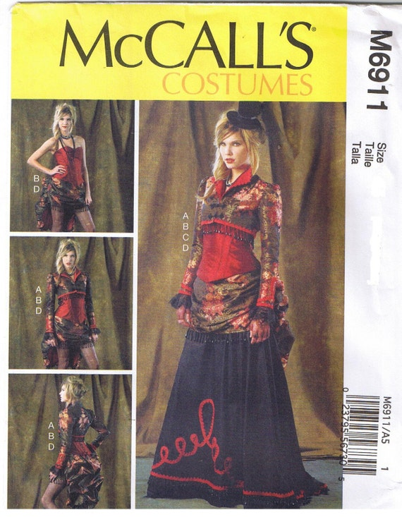 McCalls-2049-M McCalls Cosplay Ladies Sewing Pattern 2049 Belle Rogue Costume