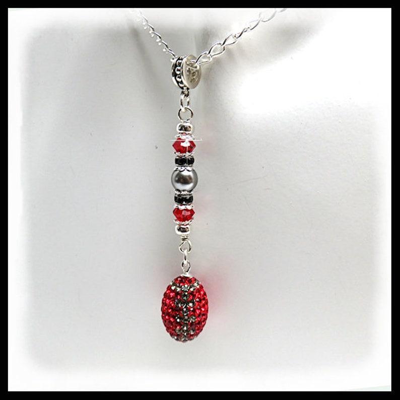 2227 OSU Buckeyes Buckeyes necklace Buckeye jewelry image 0