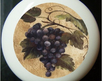 Grape kitchen decor   Etsy