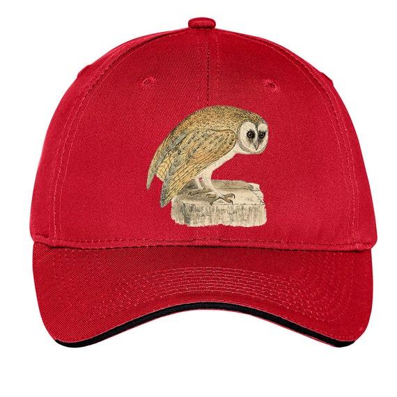 Vintage Owl Cap Baseball Hat Dad Hat Truckers Hat Birds of  f6e6849f266