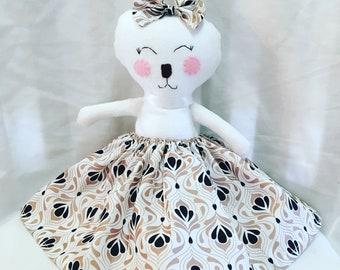 Cuddly Minky Bunny