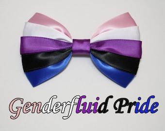 Genderfluid Pride Bow