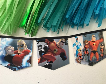 The Incredibles Book Banner