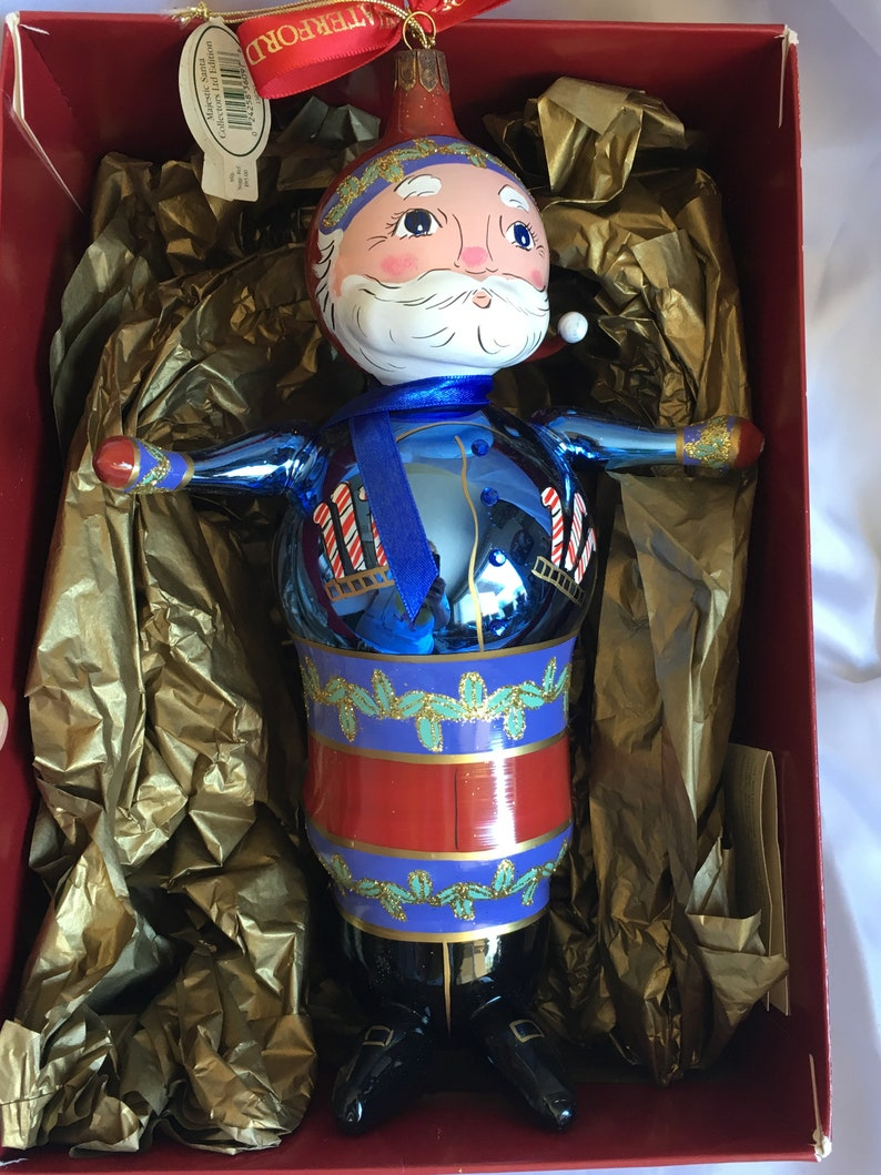 Waterford Holiday Heirlooms Majestic Santa Collectors Limited Edition #5972000 Made In Italy A9
