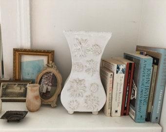 Vase - White whimsical