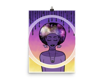 """Galaxy Within"""" Matte Archival Poster 12""""x16"""" or 18""""x24"""""""