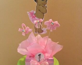 African american baby shower centerpiece, Baby Shower Centerpiece