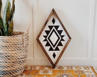 Original Aztec Diamond Sign