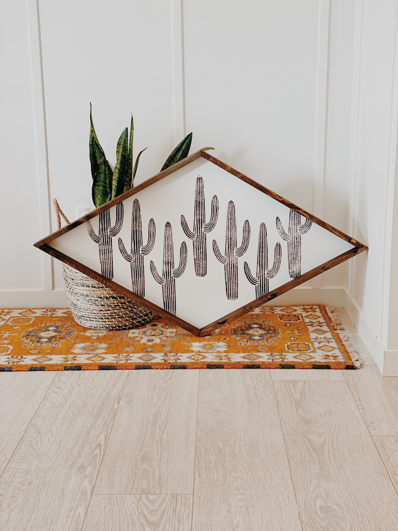 Extra Large Cactus Diamond image 0