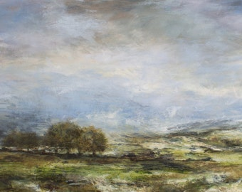 Yorkshire DalesGiclée Fine Art Print from Original Landscape Oil Painting