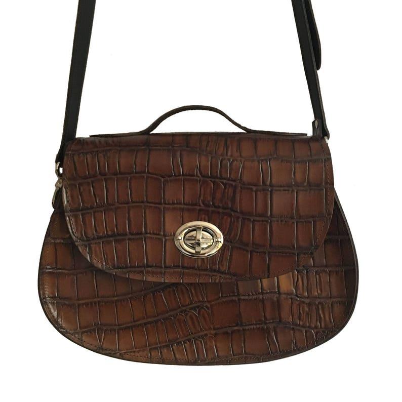 e3a31f7cda Large Leather Saddle Bag in Brown Handmade Large Bag