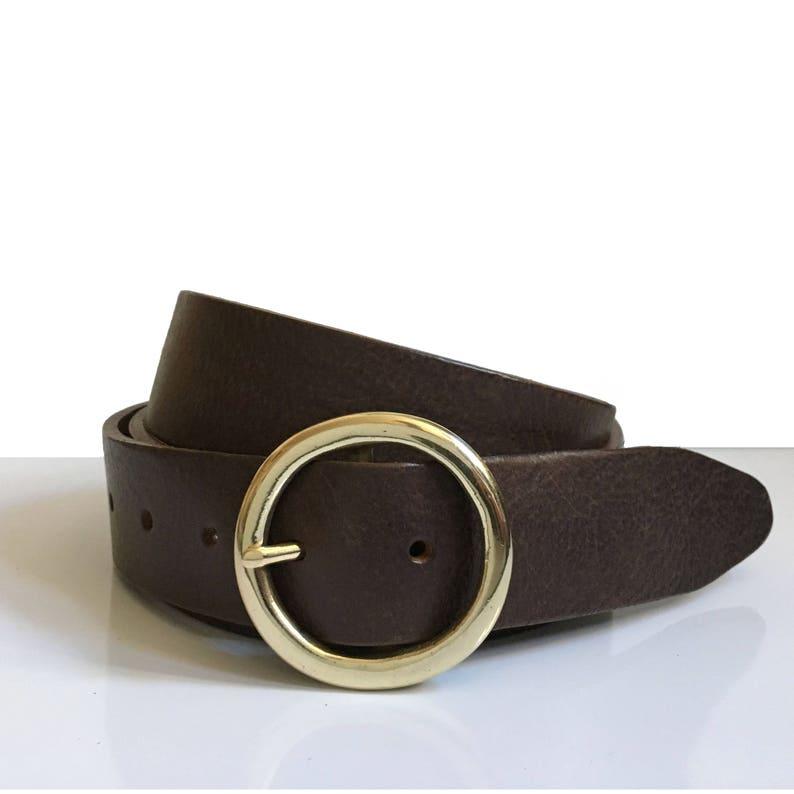 9389058c55b86 Ceinture ronde boucle de ceinture en cuir - 1