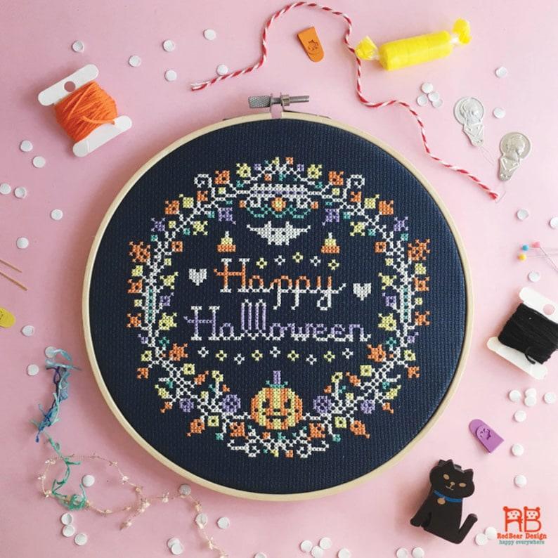 Halloween cross stitch patterns funny cross stitch world image 0