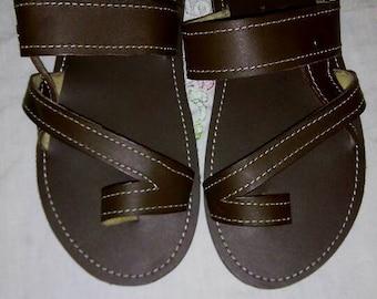 46b88ff24d630 Kenyan sandals | Etsy