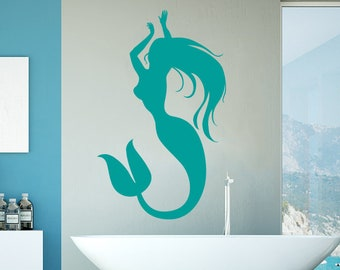 The Little Mermaid poster Olha Art Design The Little Mermaid design wall clock The Little Mermaid design decal