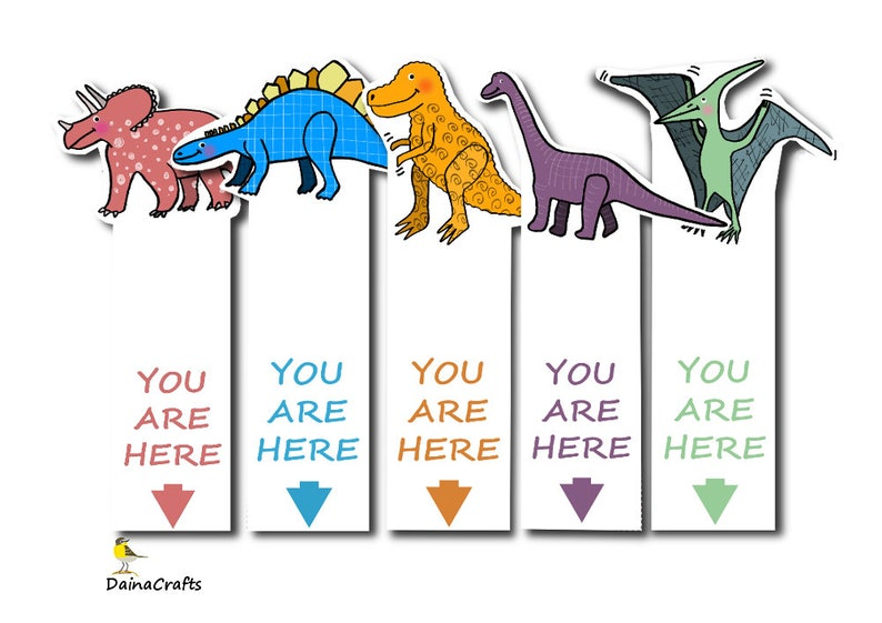 image regarding Printable Dinosaur referred to as Dinosaur Printable Bookmarks - Youngsters Bookmarks - Dinosaur Bookmark - Bookmark Obtain - PDF - Fast Obtain - Electronic Obtain - Dino