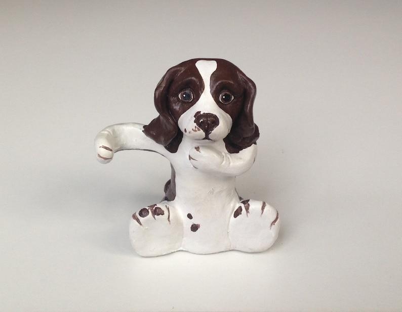 Ceramic Toothbrush Holder, Personalised Toothbrush Holder, Springer  Spaniel, Pet Portrait, Gifts for dog lovers, Stocking Stuffer, Christmas