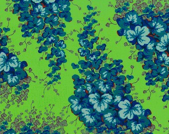 Kaffe Fassett Lille Collection - Arbour in Green LC05 - Westminster Rowan Fabrics - Out Of Print OOP VHTF Rare