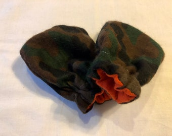 Car Seat Accessories Baby Mittens And Beanie 0-3 Months Mossy Oak All
