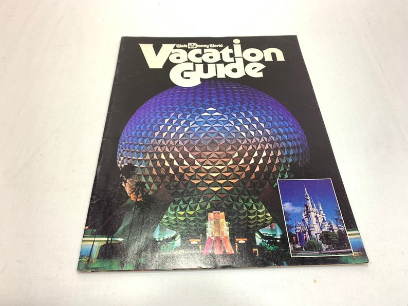 Walt Disney World Vacation Guide 1983 with EPCOT Center Magic image 0