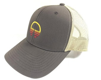 Horizons Logo Trucker Hat in Retro Style - Walt Disney World's EPCOT Center Extinct Attraction - RETROCOT Original