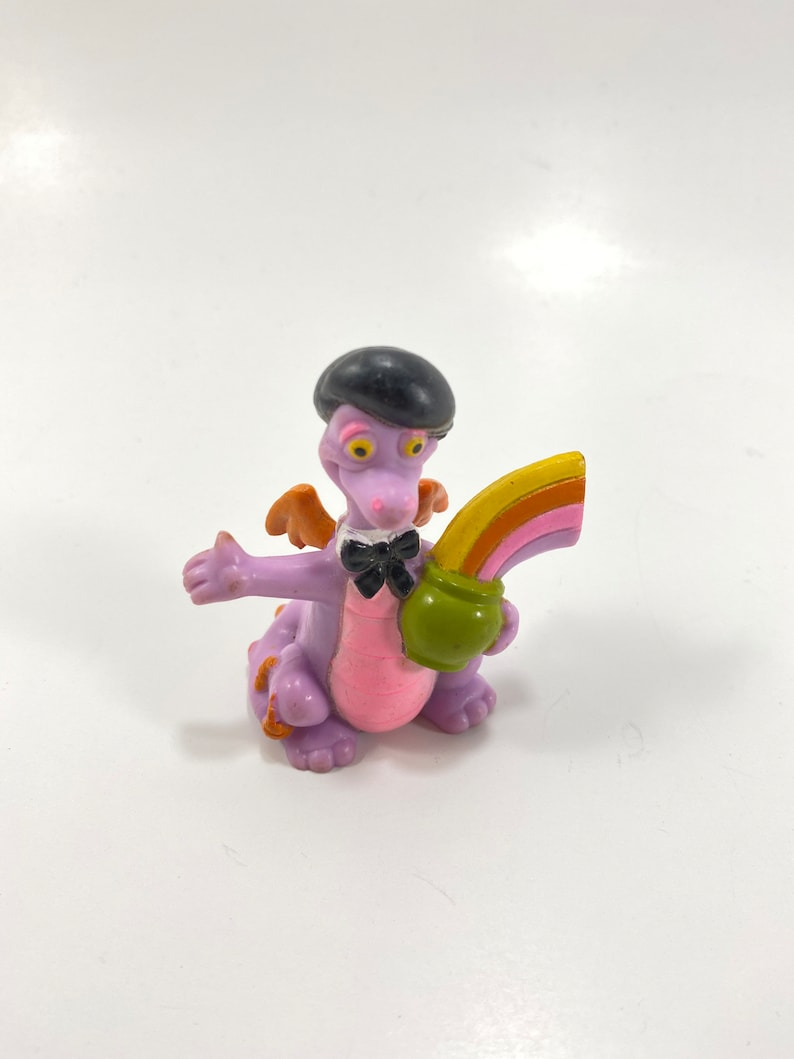 1982 Purple Figment Dragon Figure from Epcot Center at Walt image 0
