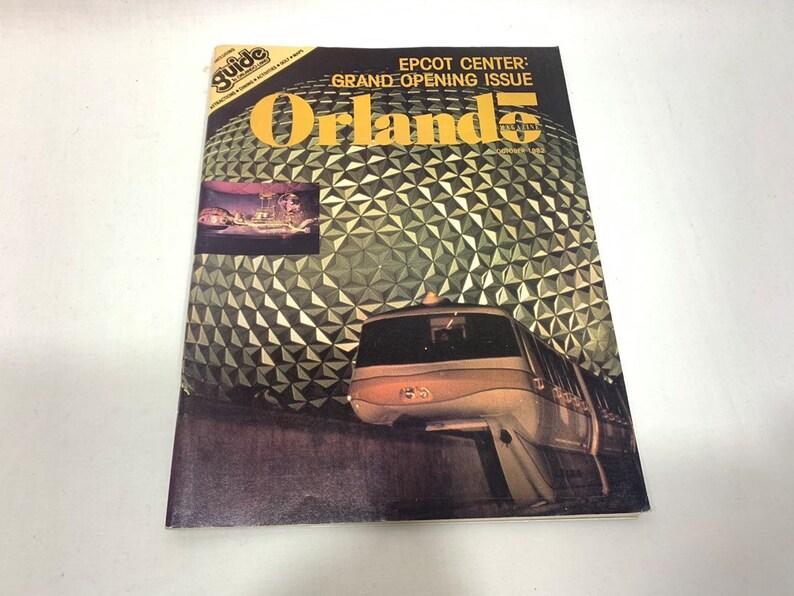 Orlando Magazine October 1982 EPCOT Center: Grand Opening image 0