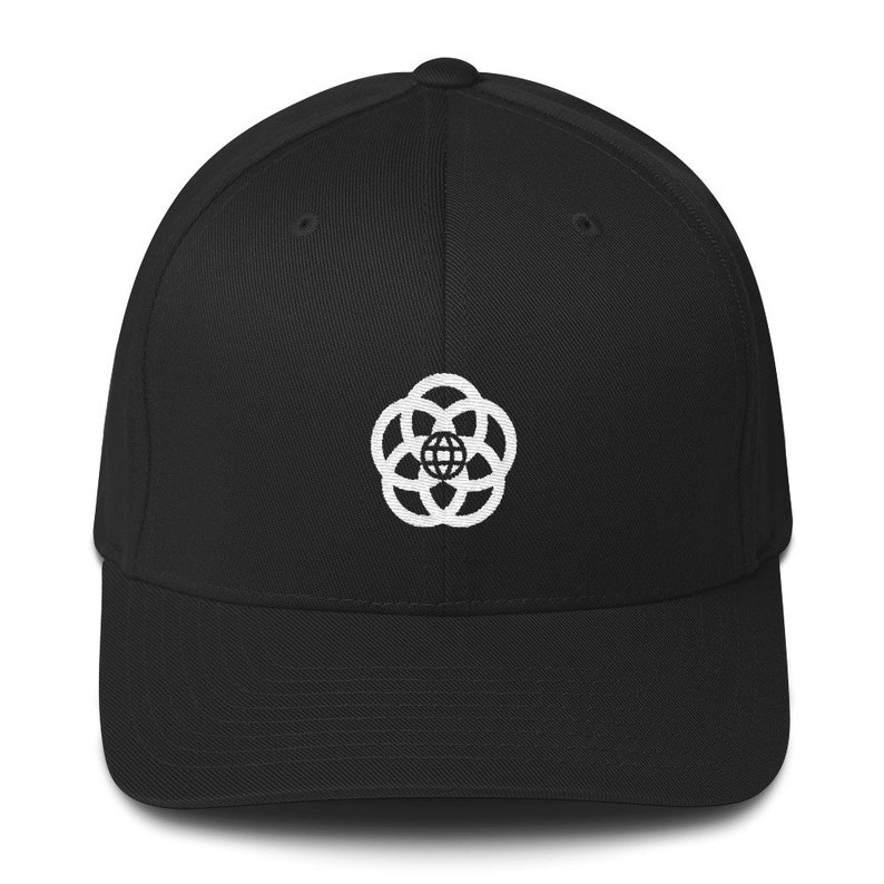 Epcot Center Logo Hat  EPCOT Center Pavilion Logo Wool Blend Black