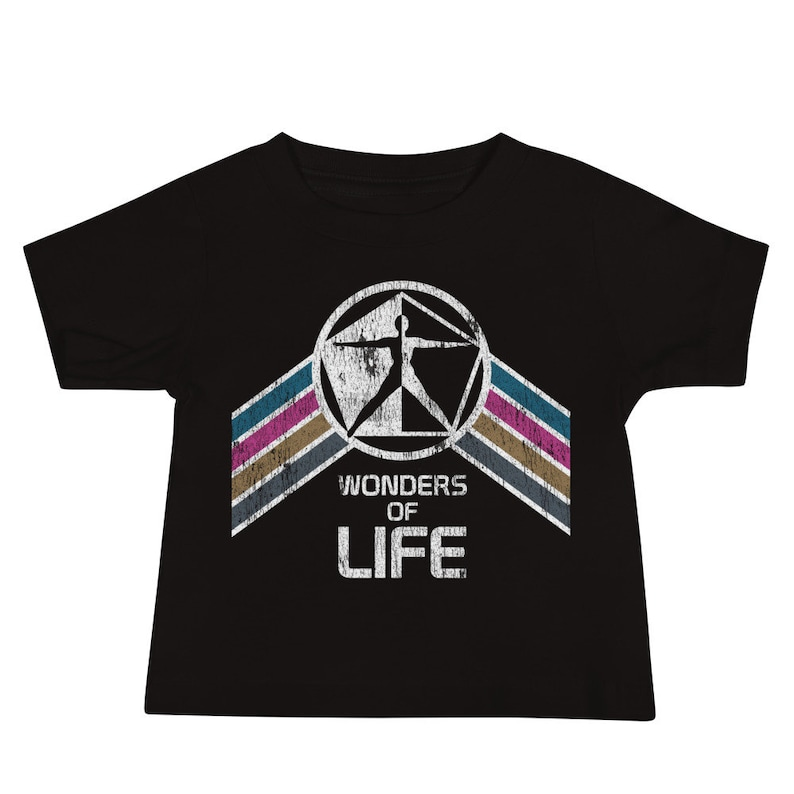 Wonders of Life Pavilion Baby Jersey Short Sleeve Tee T-Shirt Black
