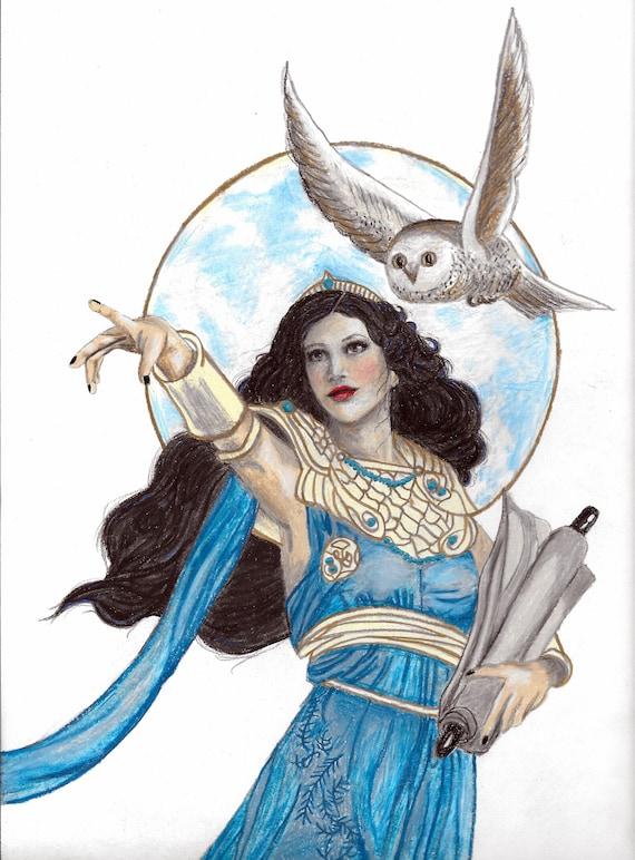 Who Was The Greek Goddess Of Wisdom