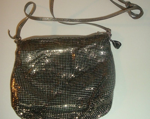 Whiting Davis USA Mesh Bag Vintage