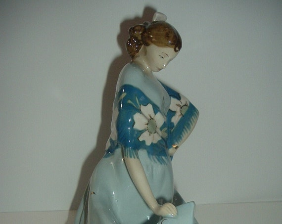 Royal Dux Lady Figurine BIG