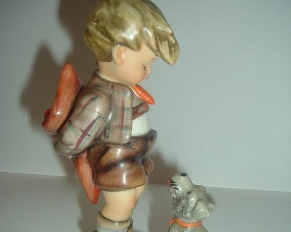 Hummel HUM 317 Not For You Boy with Dog Figurine TMK 4