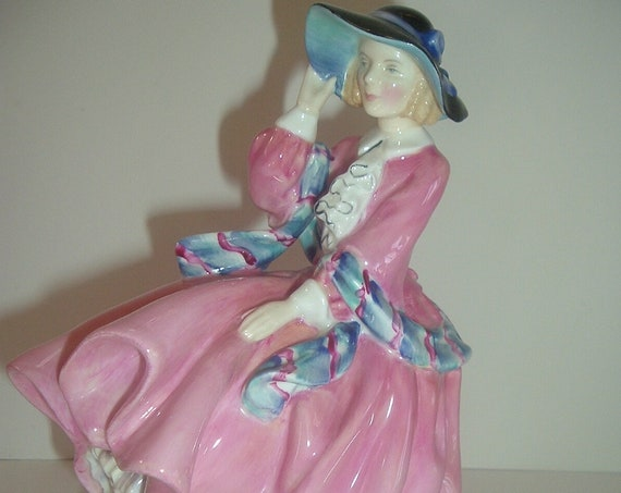 Royal Doulton HN 1849 Top O' The Hill Lady Figurine